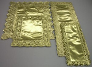 blondas oro rectangulares